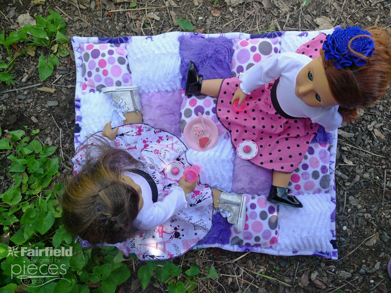 Pieces By Polly Super Easy Doll Puff Quilt Adorable How To Make A Puff Quilt With Sewing Machine