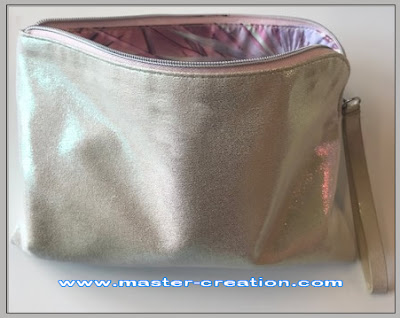 holographic zipper bag