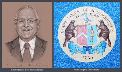 H. Robert Huke, III. Grand Lodge of Massachusetts. Scottish Rite, NMJ. by Travis Simpkins