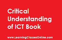 CRITICAL UNDERSTANDING OF ICT study material, CRITICAL UNDERSTANDING OF ICT in engilsh, CRITICAL UNDERSTANDING OF ICT ebook, CRITICAL UNDERSTANDING OF ICT b.ed,