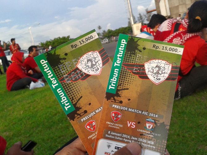 Tiket Liverpool U17 vs Frenz United Indonesia