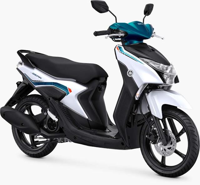 Yamaha Gear 125 Metallic White