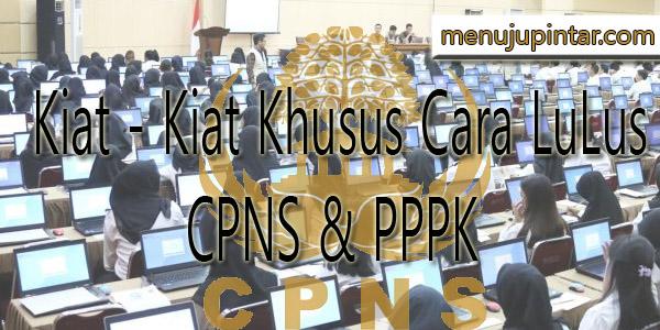Cara LuLus CPNS & PPPK Terbaru