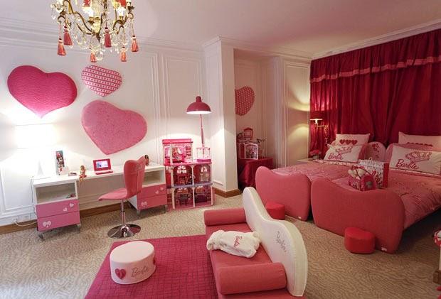 Dormitorios color rosa tema Barbie  Ideas para decorar