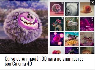 Curso de Animación 3D para no animadores con Cinema 4D