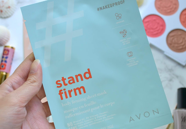 Avon #NakedProof Dare to Bare and Stand Firm Body Mask Review