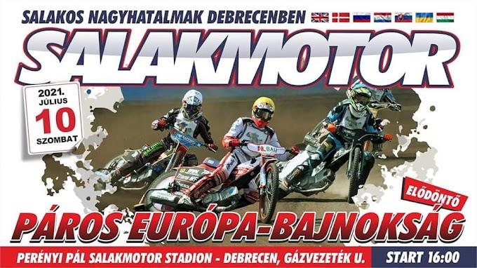 Végleges startlista a Páros Európa-Bajnokság debreceni elődöntőjén