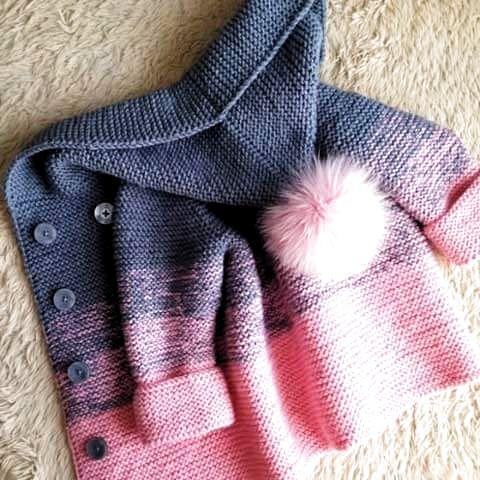 wzór sweterków dla dzieci