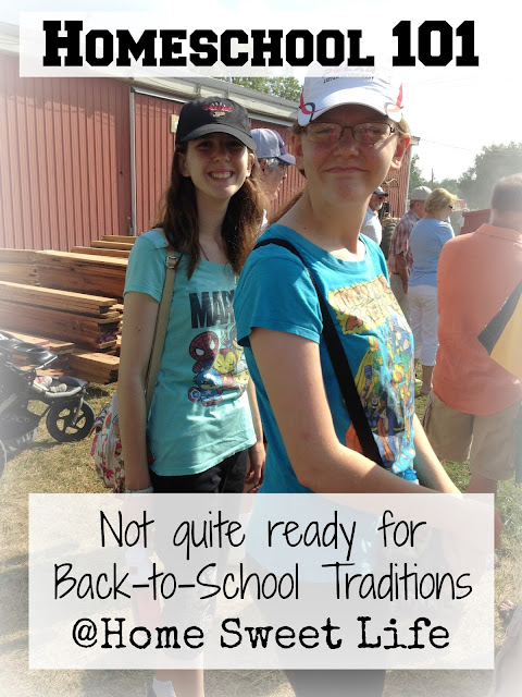Homeschool 101, Traditions, homeschooling