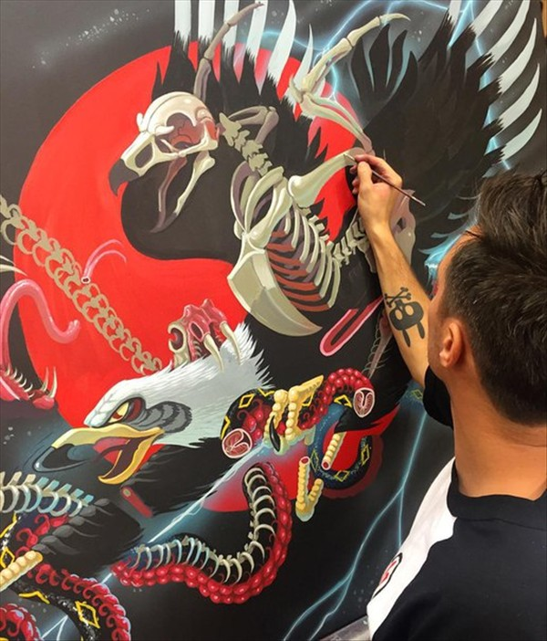 the artist NYCHOS