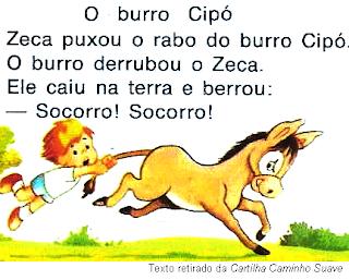 Texto O BURRO CIPÓ