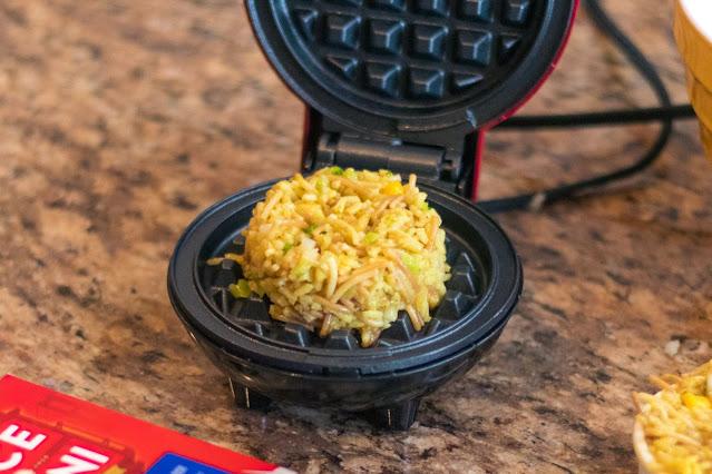 How to Make Rice-A-Roni Savory Mini Waffles