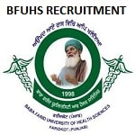 BFUHS Various Post Recruitment