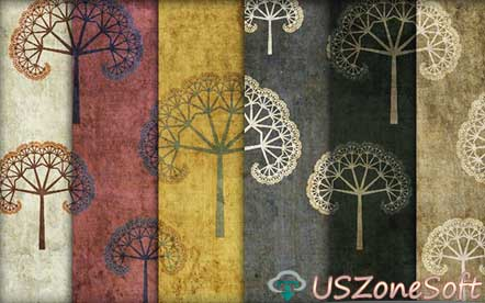 Grungy Fractal Tree Photoshop Patterns Beautiful Stylish personal commercial business premium design .pat or .zip file free download