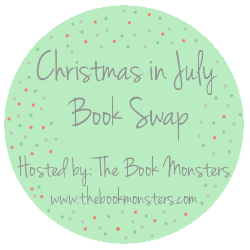 Christmas in July book swap