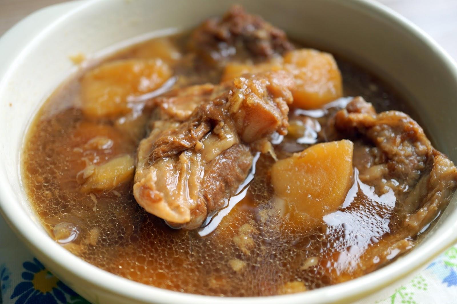 OL醉愛廚房: 日式豬軟骨