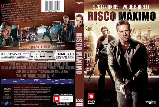 Capa DVD Risco Máximo [Exclusiva]