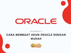 Cara Membuat Akun Oracle Dengan Mudah