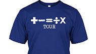 Ed Sheeran +-=÷× Tour T Shirt