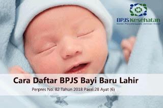 Cara Daftar BPJS Kesehatan Calon Bayi