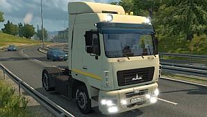 MAZ 5440 A9 truck mod