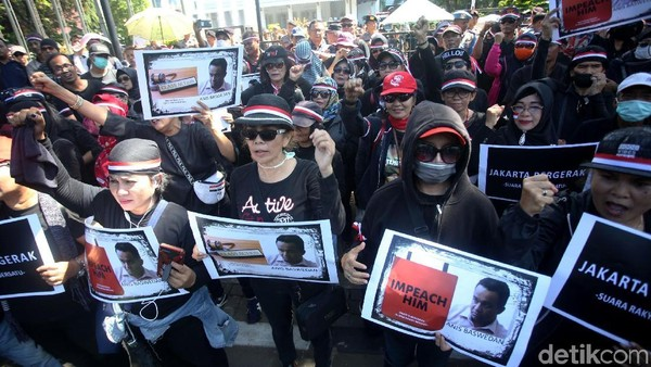 Saling Tuduh Massa Bayaran Pasca Demo pada Anies Baswedan