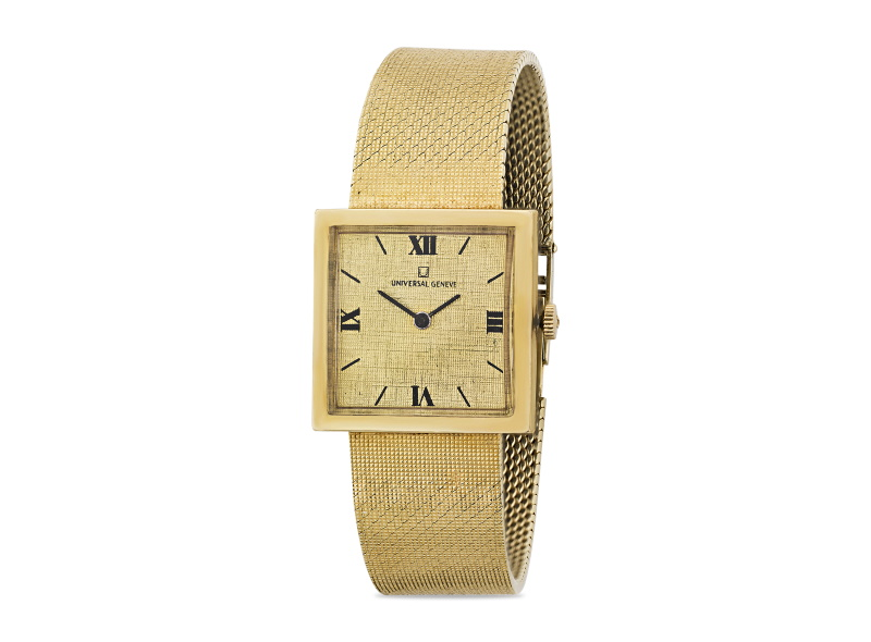 14K gold wristwatch was once owned by Elvis Presley