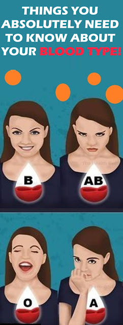 Things You Absolutely Need To Know About Your Blood Type!