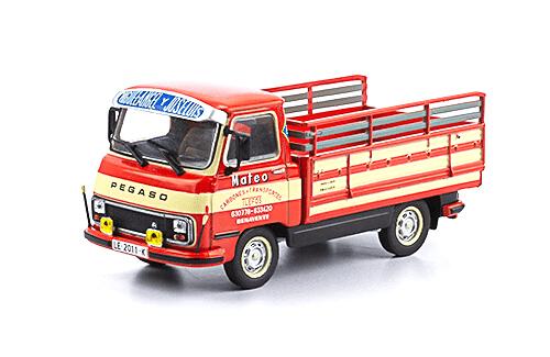 sava j4 pick-up 1984 1:43 carbones mateo vehículos de reparto y servicio salvat