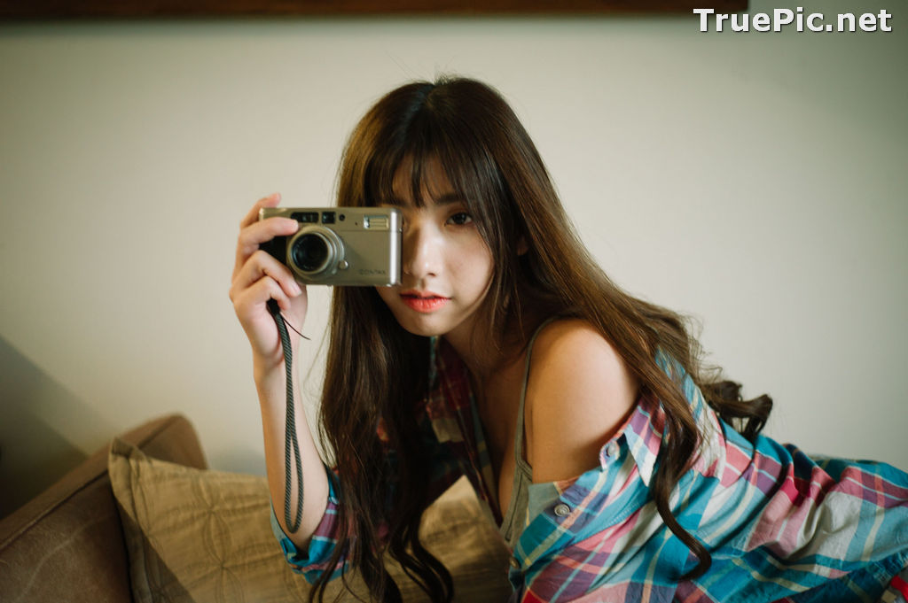 Image Taiwanese Model - Amber - Today I'm At Home Alone - TruePic.net - Picture-2