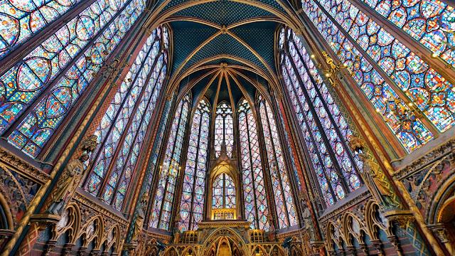 Saint-Chapelle em Paris