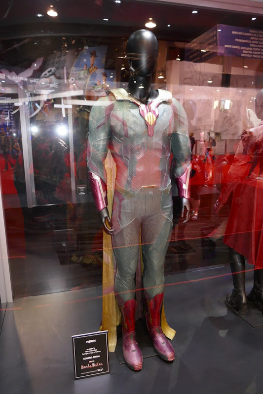Paul Bettany Avengers Age of Ultron Vision costume
