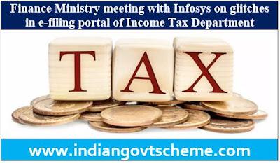 e-filing portal of Income Tax