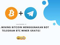 Cara Mining Bitcoin Menggunakan BOT Telegram BTC Miner GRATIS!