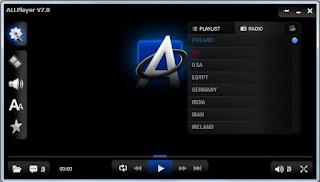تحميل برنامج AllPlayer لتشغيل ملفات الفيديو والصوت و mp3