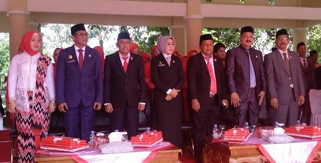 Ketua DPRD Bone Membuat Peserta Upacara HUT Proklamasi Kemerdekaan RI Terpana