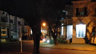 Suasana malam di CitraLand Celebes