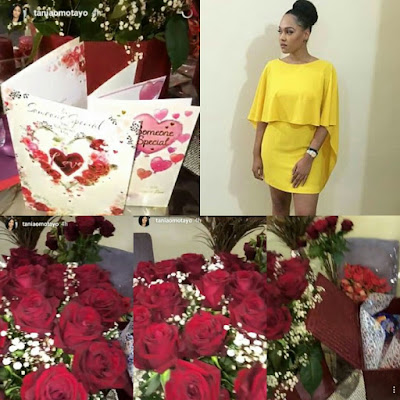 Tania Omotayo gushes over her 'someone'