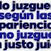 Juan 7:24