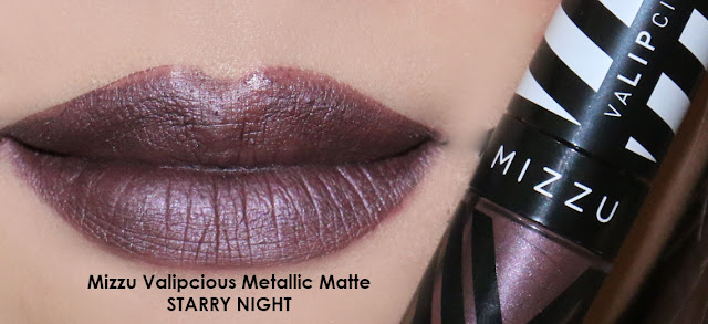 Mizzu Valipcious Metallic Matte STARRY NIGHT