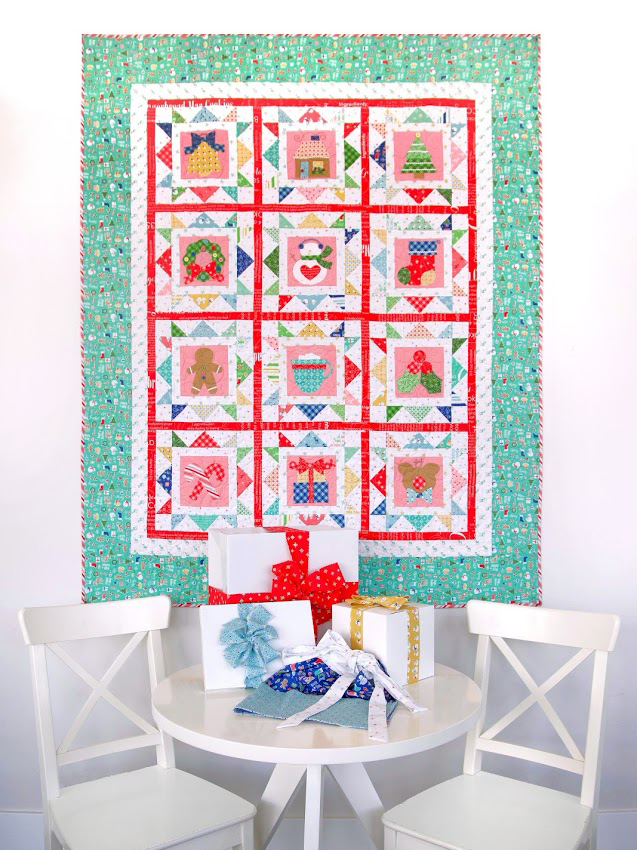 Introducing the Cozy Christmas Sew Along from Lori Holt of Bee in My