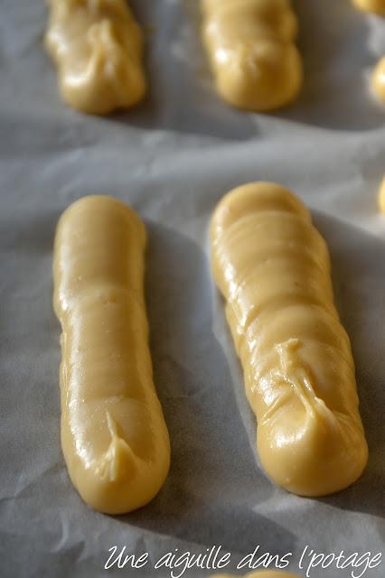 pâte à choux de Christophe Adam