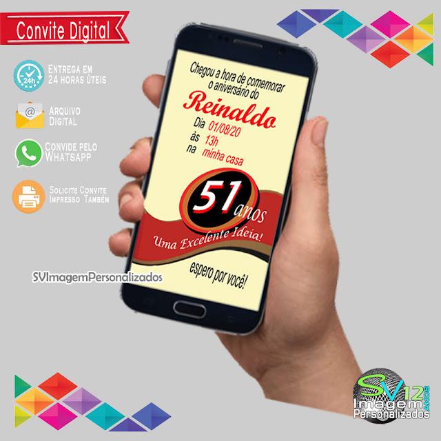 Convite Digital Festa Boteco 51 boa idea ,dicas e ideias para decoração de festa personalizados