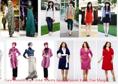 Cara Memilih Baju Untuk Wanita