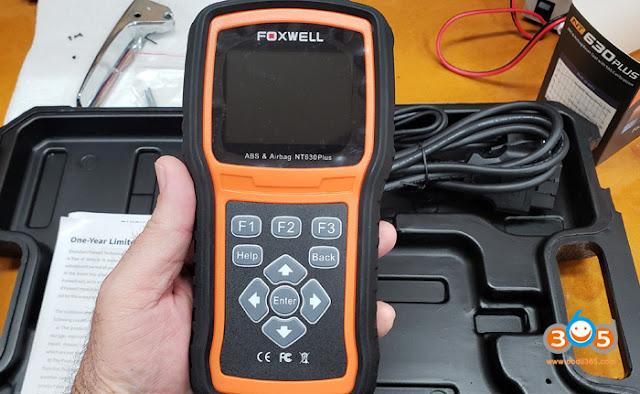 Foxwell NT630 Plus scanner:
