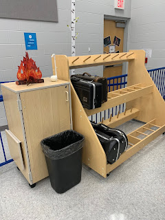 Music Classroom Reveal: Lots of great ideas for a camping-themed music room! Includes tips for organization, bulletin board ideas, and more!