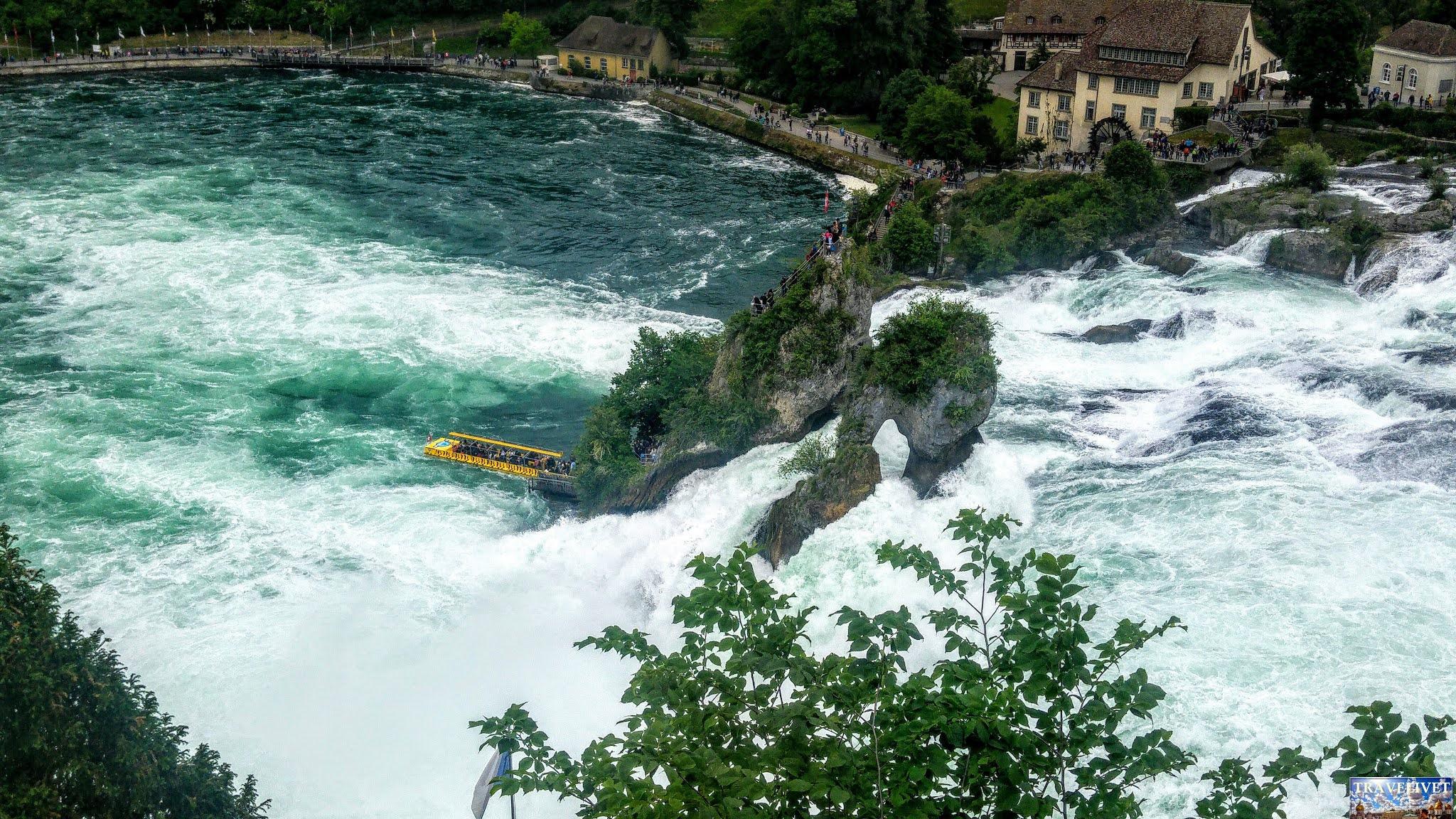 les chutes du Rhin Neuhausen
