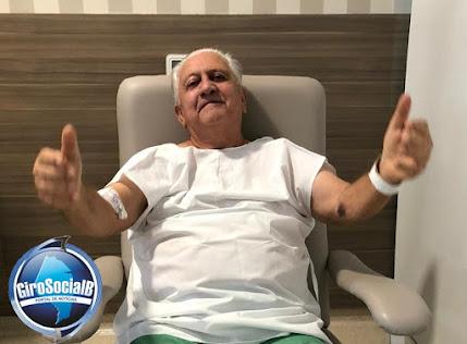 Arquimedes Valença  após recuperado do  novo coronavírus   se   prepara para a  sua volta ao cenário  politico  Buiquense.