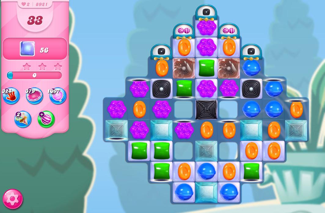Candy Crush Saga level 8921