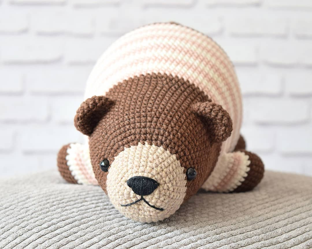 Amigurumi bear crochet pattern